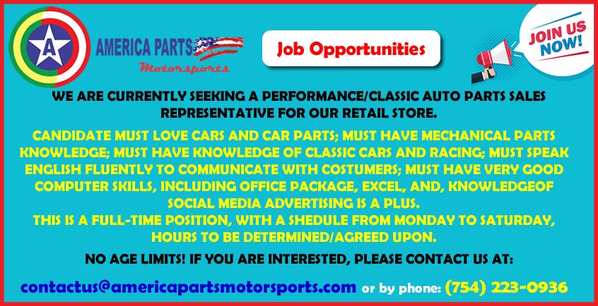 America Parts Motorsports