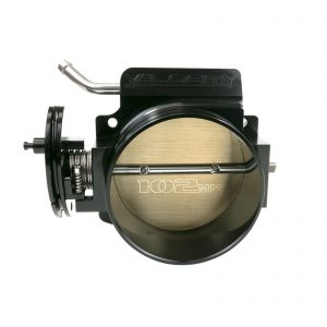 Throttle Body, TSP Velocity 102 mm 4-Bolt LS, Black Finish