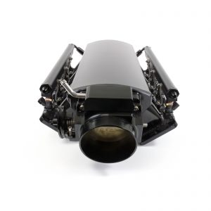 TSP Velocity Intake, Ford 5.0L Coyote, Angled Induction 92mm, BLACK Kit