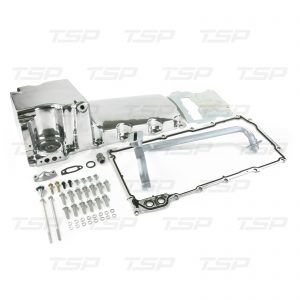 LS Aluminum Rear Sump Retro-Fit Oil Pan, POLISHED