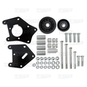 LS TRUCK ALUMINUM AC COMPRESSOR RELOCATION BRACKET