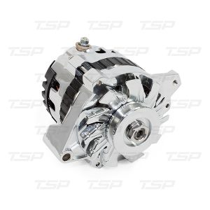 GM CS130 Style 160 Amp Alternator with V-belt Pulley