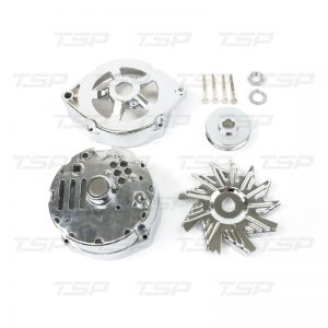 GM 10SI Style Alternator Chrome Dress-up Kit