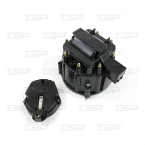 8-Cylinder HEI Cap & Rotor Kit - Black