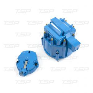 8-Cylinder HEI Cap & Rotor Kit - Blue