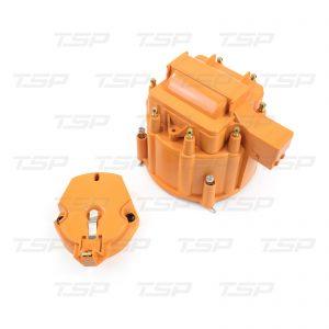8-Cylinder HEI Cap & Rotor Kit - Orange
