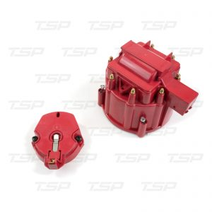 8-Cylinder HEI Cap & Rotor Kit - Red