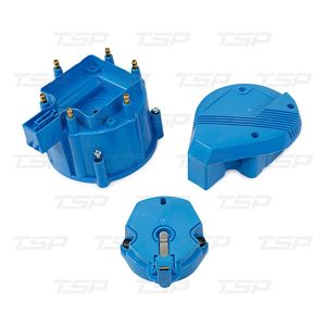 6-Cylinder HEI Super Cap & Rotor Kit - Blue