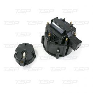 6-Cylinder HEI Cap & Rotor Kit - Black