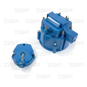 6-Cylinder HEI Cap & Rotor Kit - Blue