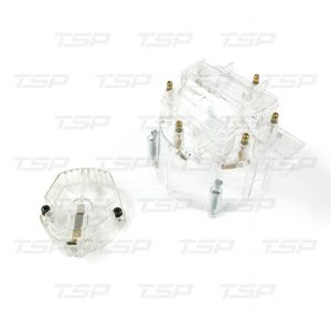 6-Cylinder HEI Cap & Rotor Kit - Clear