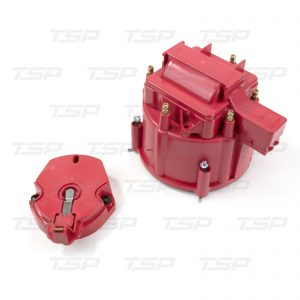 6-Cylinder HEI Cap & Rotor Kit - Red
