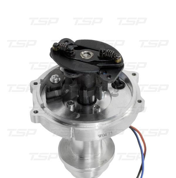 PRO SERIES PRO-BILLET DISTRIBUTOR - MOPAR BB 383/400 V8 ENGINE, RED CAP