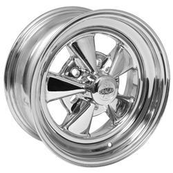 Wheel, Super Sport, Steel, Chrome, 15 in. x 7 in., 5 x 4.5/4.75/5 in. Bolt Circle, 4.125 in. Backspace, Each